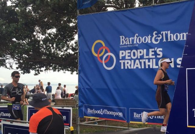 Auckland triathlon shows glimpse of NZ prospects
