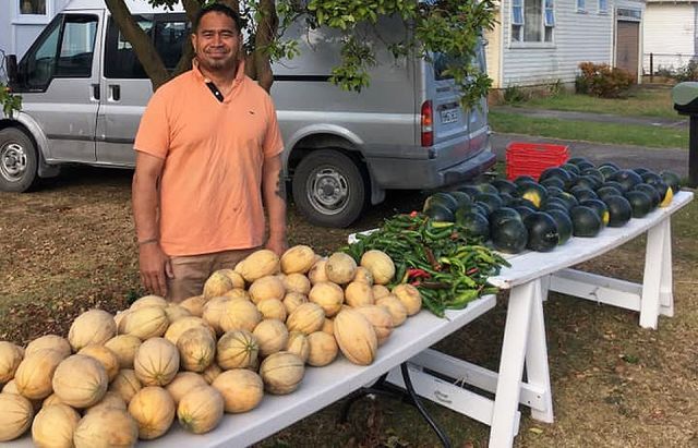 Free fruit and vegetables just one road sign of what Pastor Moses brings to Mt Albert