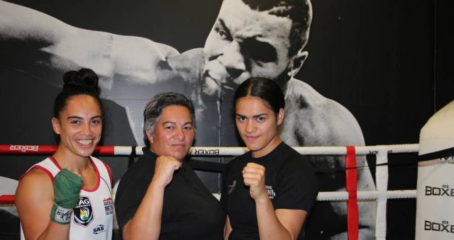 West Auckland sisters boxing their way to success
