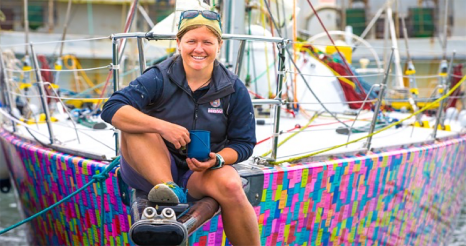 Aussie sailor breaks world record on Antarctica adventure