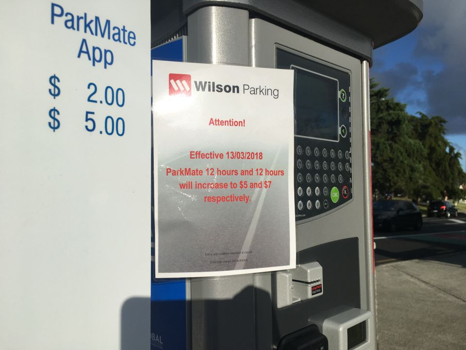 Cheaper parking option backfires on students