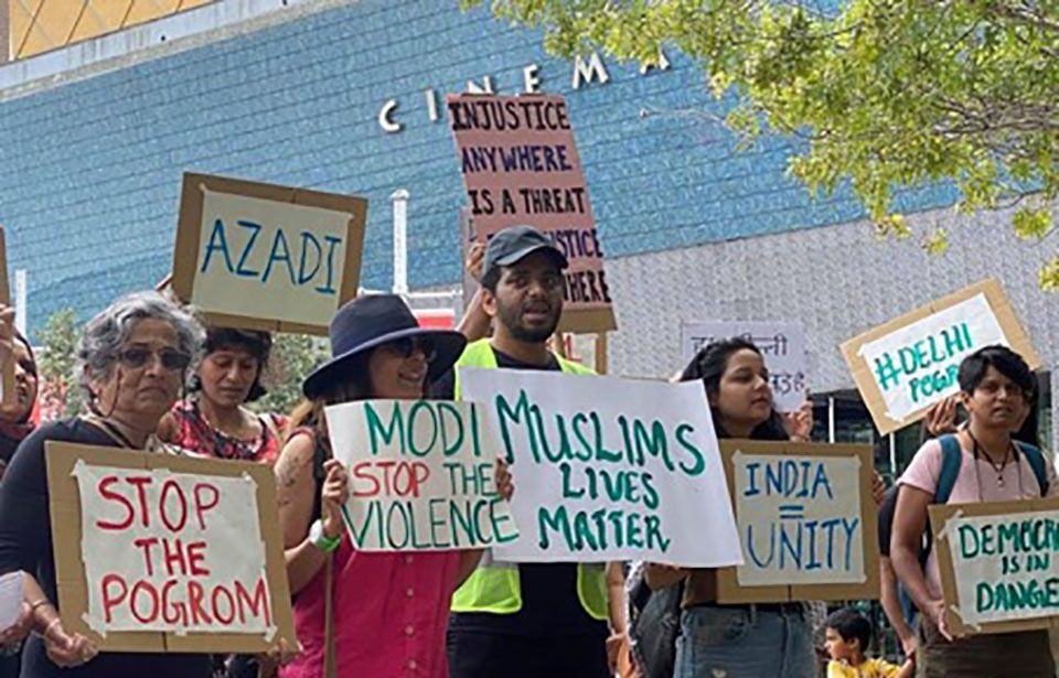 """""""Silence is violence"""" – calls for the Indian Commissioner's sacking"""