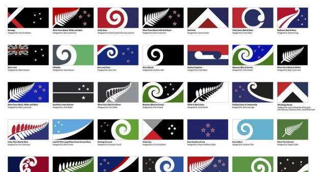 ​'Lucky' designer lands two designs in top 40 flag list