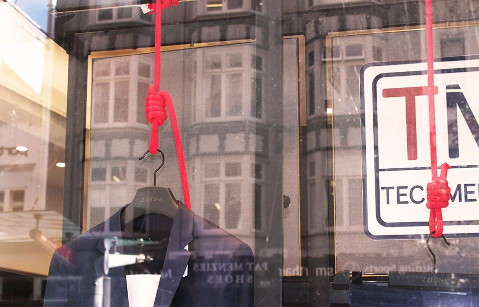 Queen Street display window