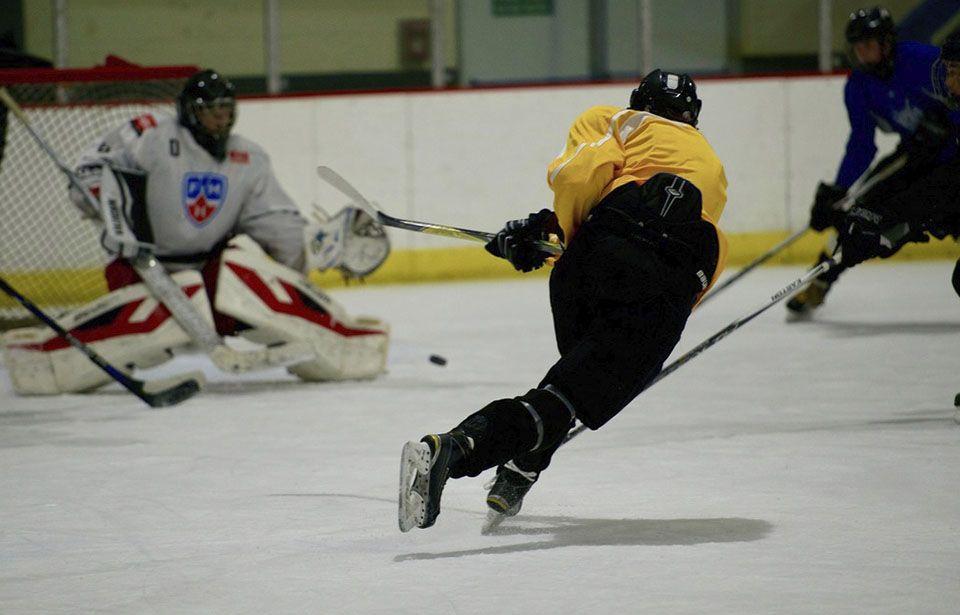 PHOTO ESSAY: In the locker room with the U18 national ice hockey team