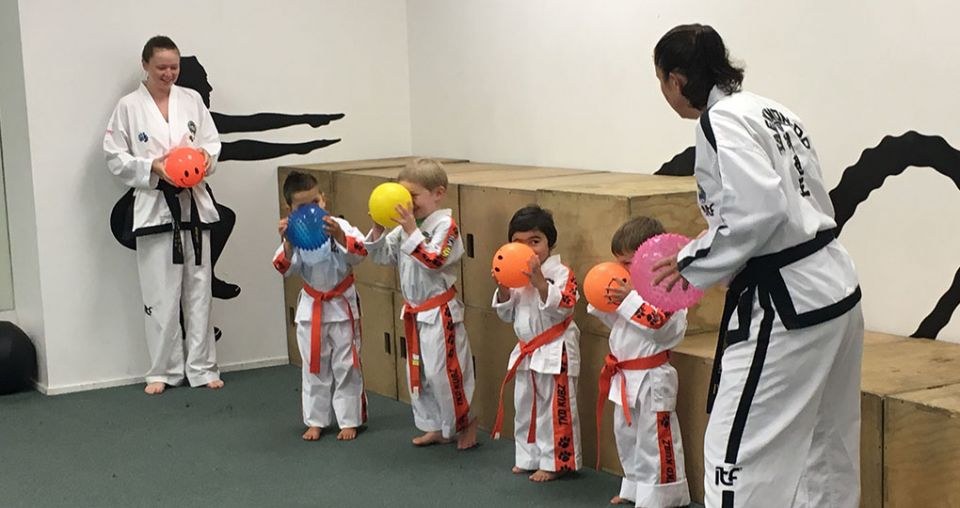 Taekwon-Do tutors push safety education for children