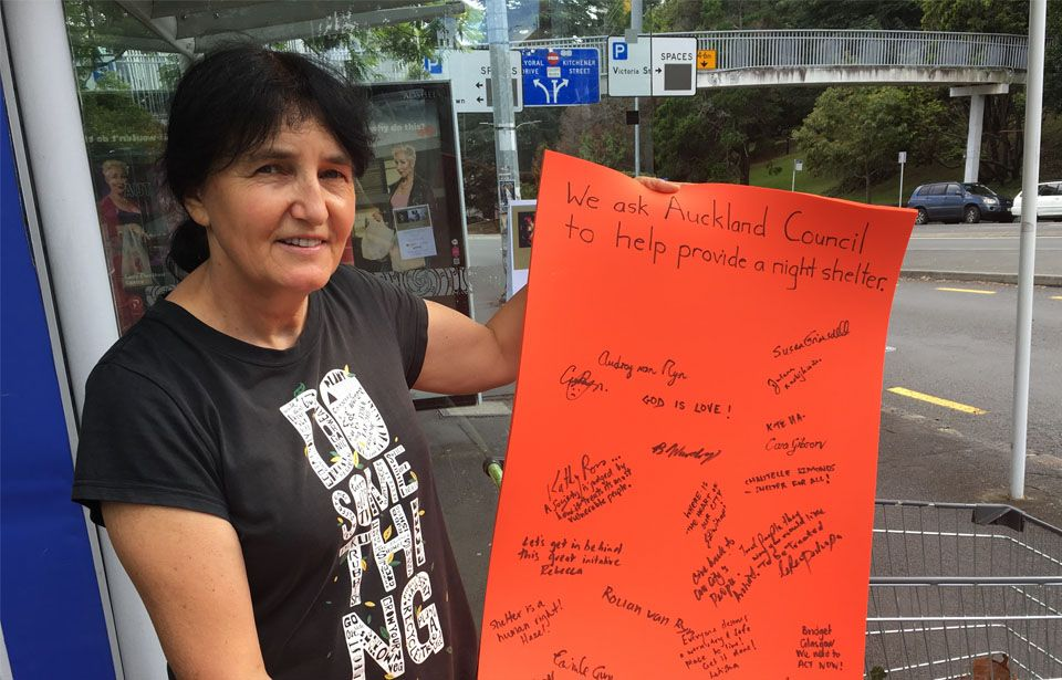 Campaign for Auckland CBD night shelter continues
