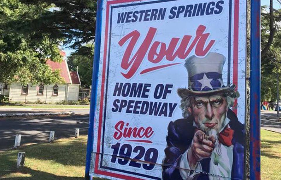 Western Springs Speedway grinding to a halt
