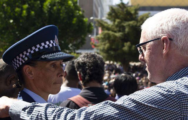 Calls for kotahitanga at Auckland peace vigil