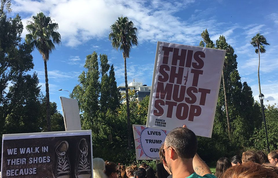 Divisive gun control rallies hit Auckland