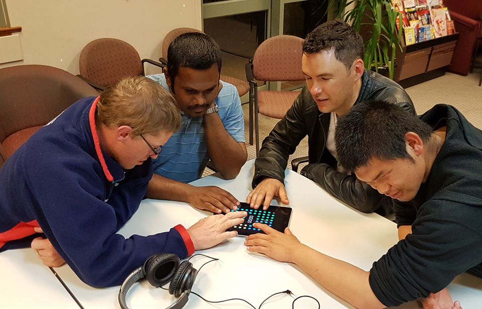 Kiwi app for the visually impaired scores global recognition