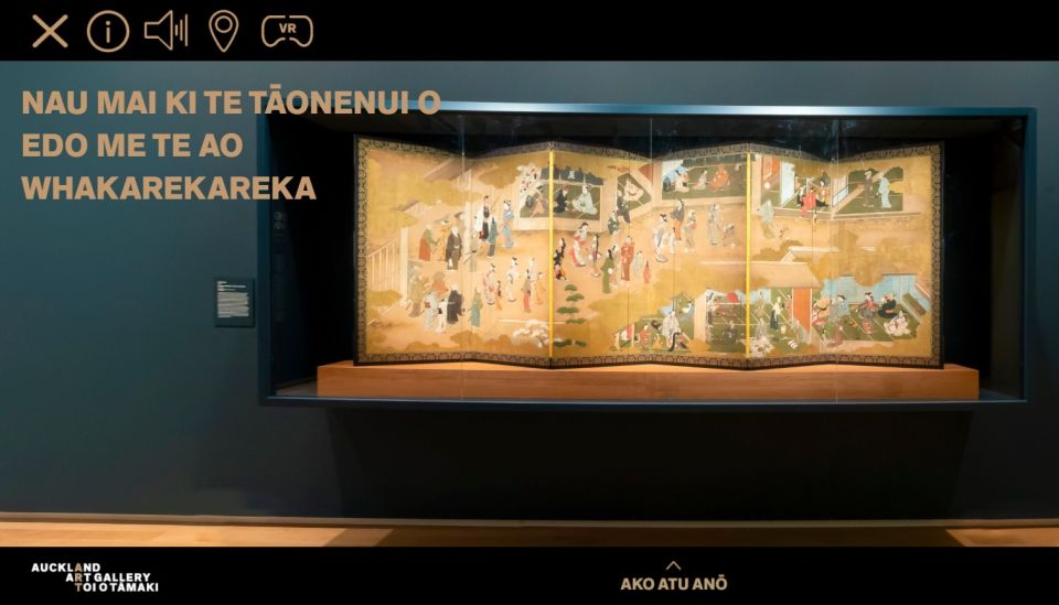 Māori, Japanese worlds merge in Auckland Art Gallery's new virtual exhibit