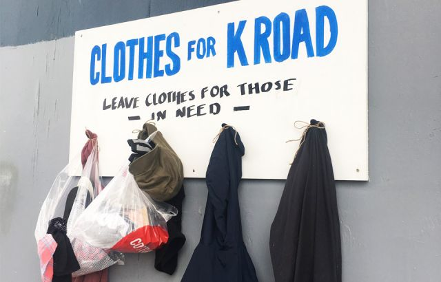 Opportunity shops support 'clothes for K'Road' initiative