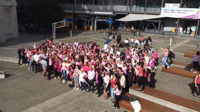 Pink Shirt Day at AUT - bigger than ever