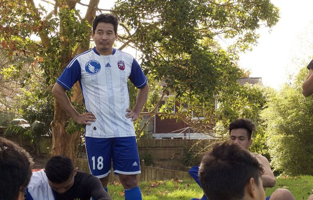 Auckland's Nepali football team still in the hunt