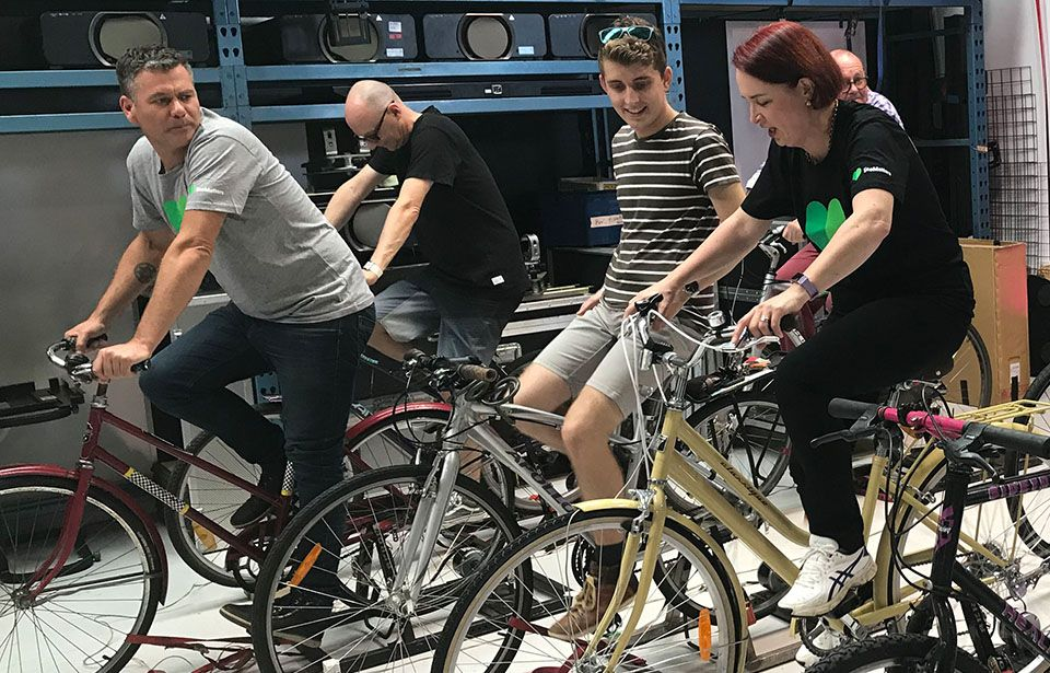 Pedal-powered movie will kick off out-West eco-fest