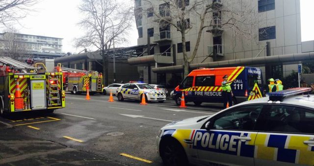 ​Chemical incident at Auckland hotel leaves accused man dead