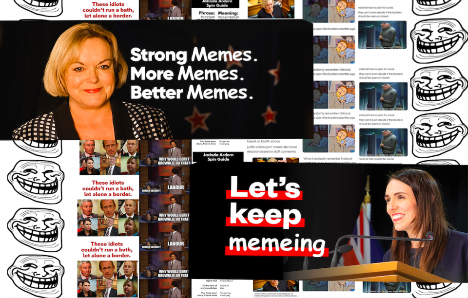Meme pages could be swinging New Zealand youth's political leanings