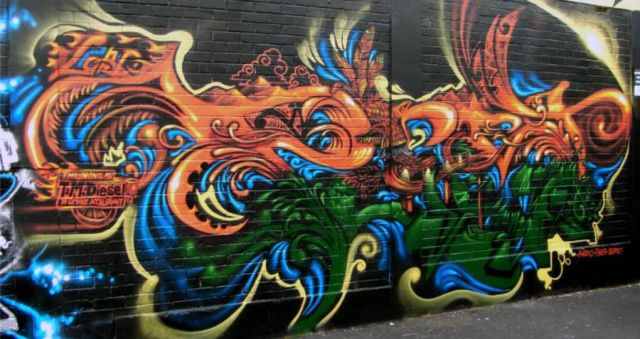 Auckland Council shows support for graffiti artists