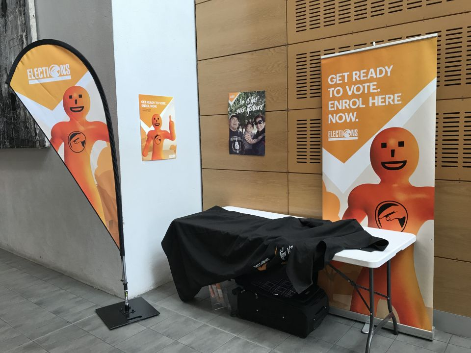 Orange Guy outdated, say young voters