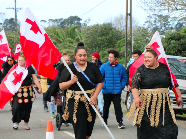 """Tongans bring """"love and support"""" to stand with Ihumātao"""