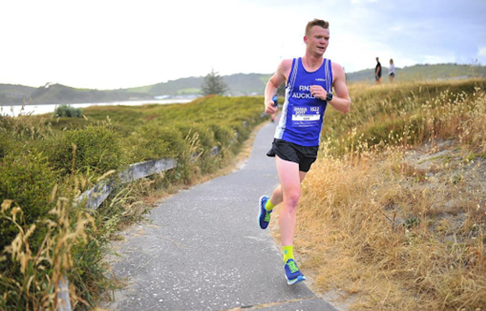 Athlete Sam Durrant said he is excited to run the rocky terrain in Riverhead forest this weekend. Photo: Supplied