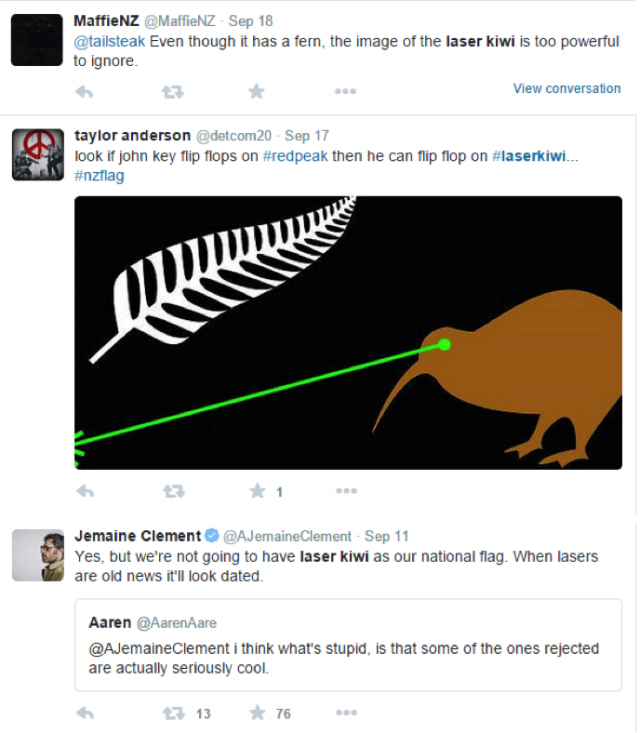 The flag debate so far: The good, the bad, and the Laser Kiwi