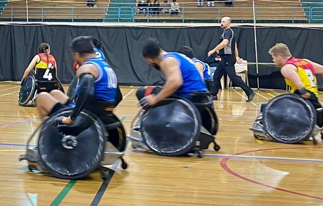Wheel Blacks off to Paralympics