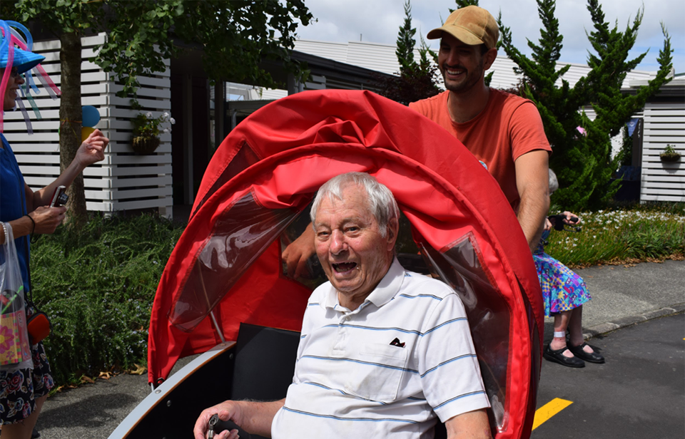 It's true - we are never too old to ride