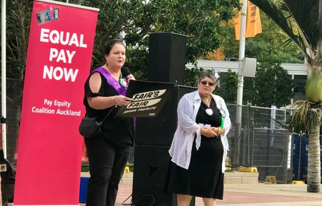 Education staff fight for equal pay