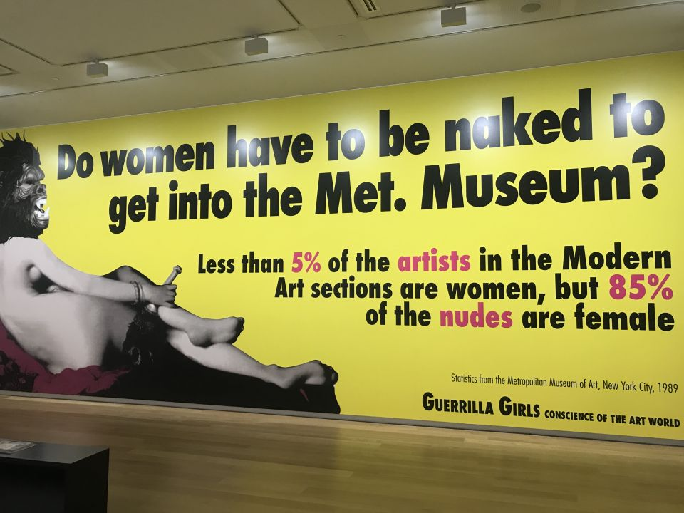 Guerrilla Girls invite arty critique