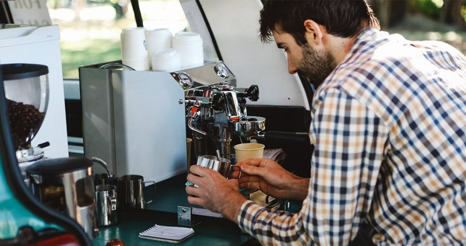 Express-o love: car boot coffee an eco hit
