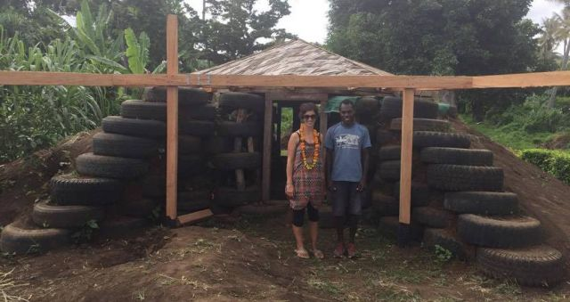 Cyclone-resistant eco-house sparks hope in Vanuatu