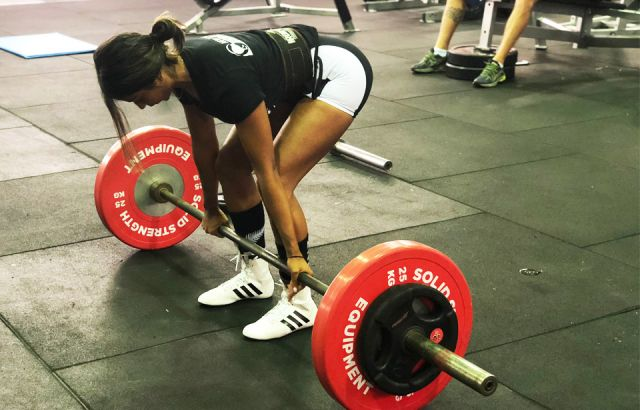 Kiwi student ready to take on the World Powerlifting Championships