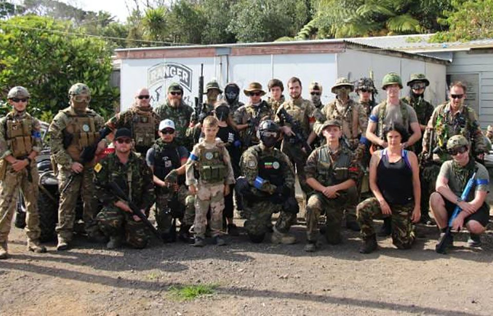Auckland airsoft club members encourage use of non-lethal firearms