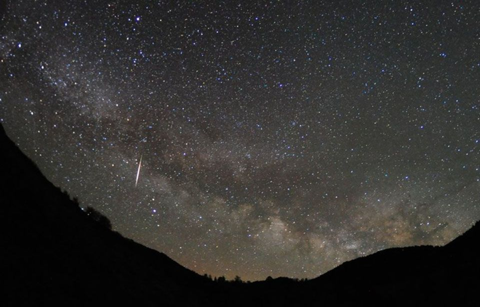 Still time to see spectacular meteor shower