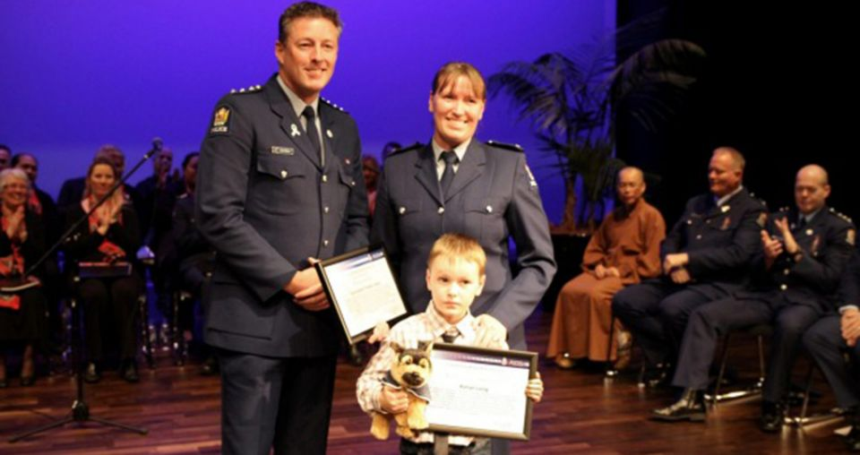Constable's call beyond the bounds of duty